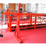 construction gondola buidling suspended platform, 630kg suspended access cradles