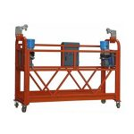platform forklift suspended platform cradle adjustable working platform