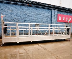 Hot sales alumimum alloy suspended platform / suspended gondola / suspended buaid / suspended swing stage with form